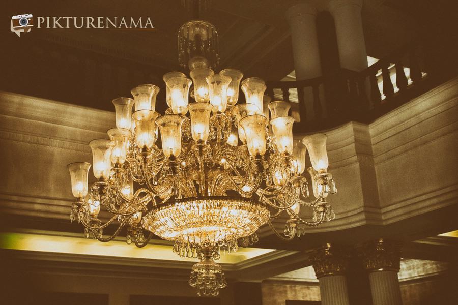 The Oberoi Grand Kolkata chandelier