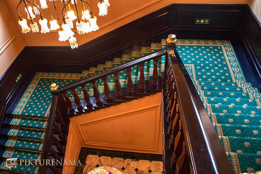Oberoi Grand Kolkata the stair case
