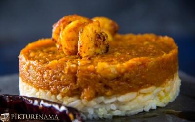 Kumro chingri – A surprise thakurbarir recipe