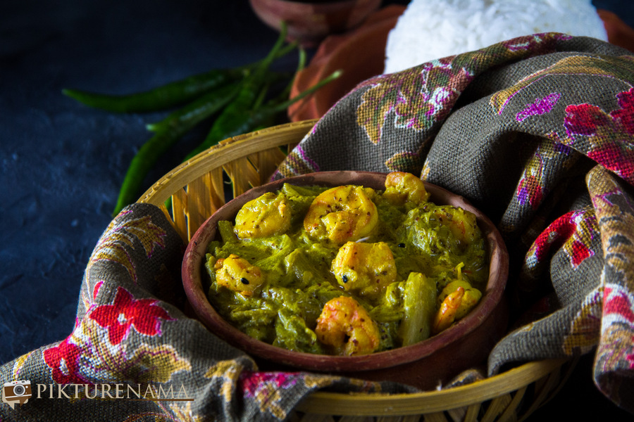 Shapla Chingri a bengali prawn dish which tells a lot about our society