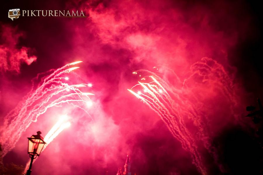 HongKong Disneyland Fireworks 14