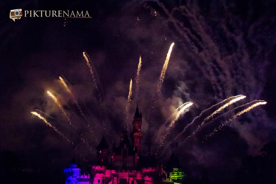 HongKong Disneyland Fireworks 24