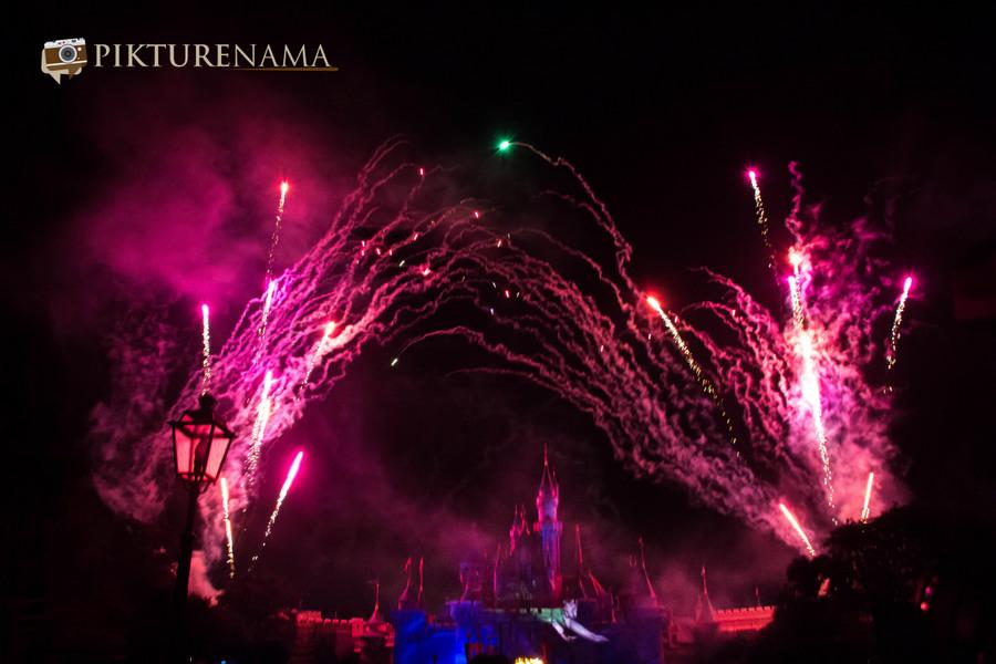 HongKong Disneyland Fireworks 3