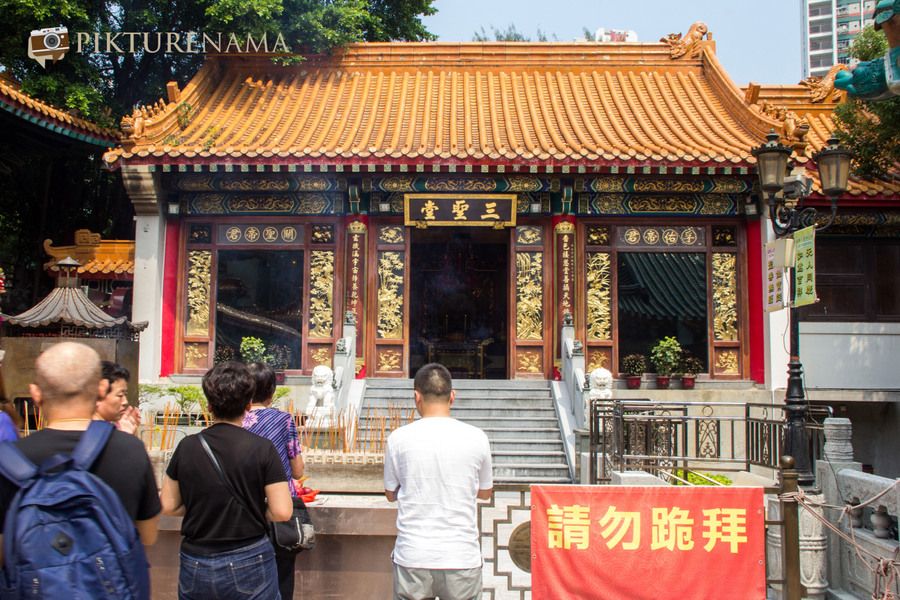 Wong Tai Sin temple HongKong and Man Mo Temple 23