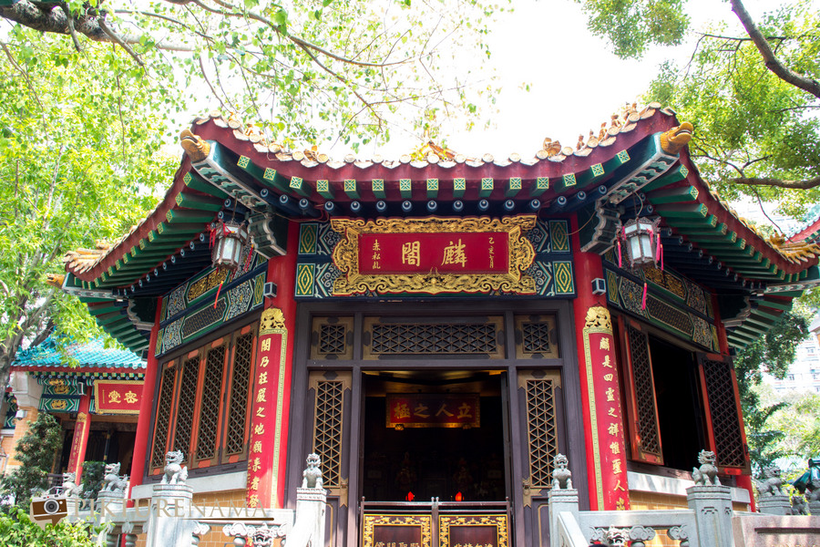 Wong Tai Sin temple HongKong and Man Mo Temple 25