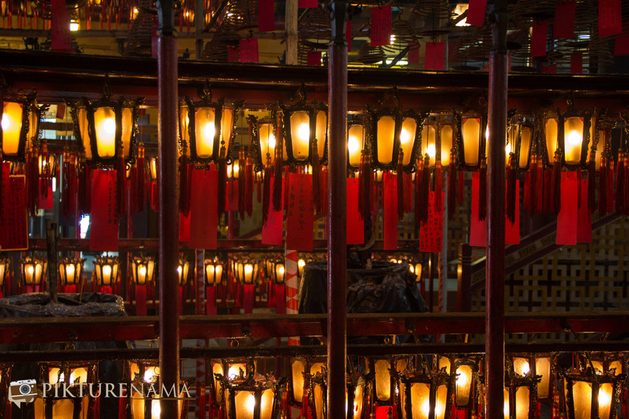 Wong Tai Sin temple HongKong and Man Mo Temple 40