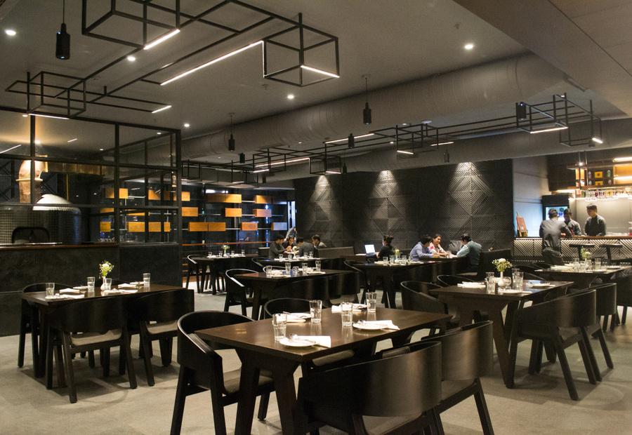 The Salt House Kolkata dining room