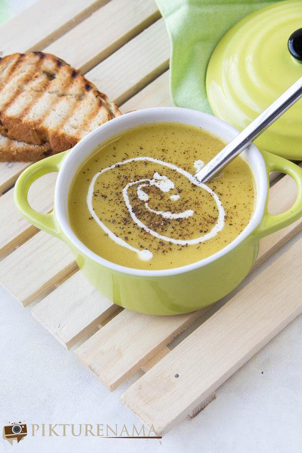 sweet corn soup - 1