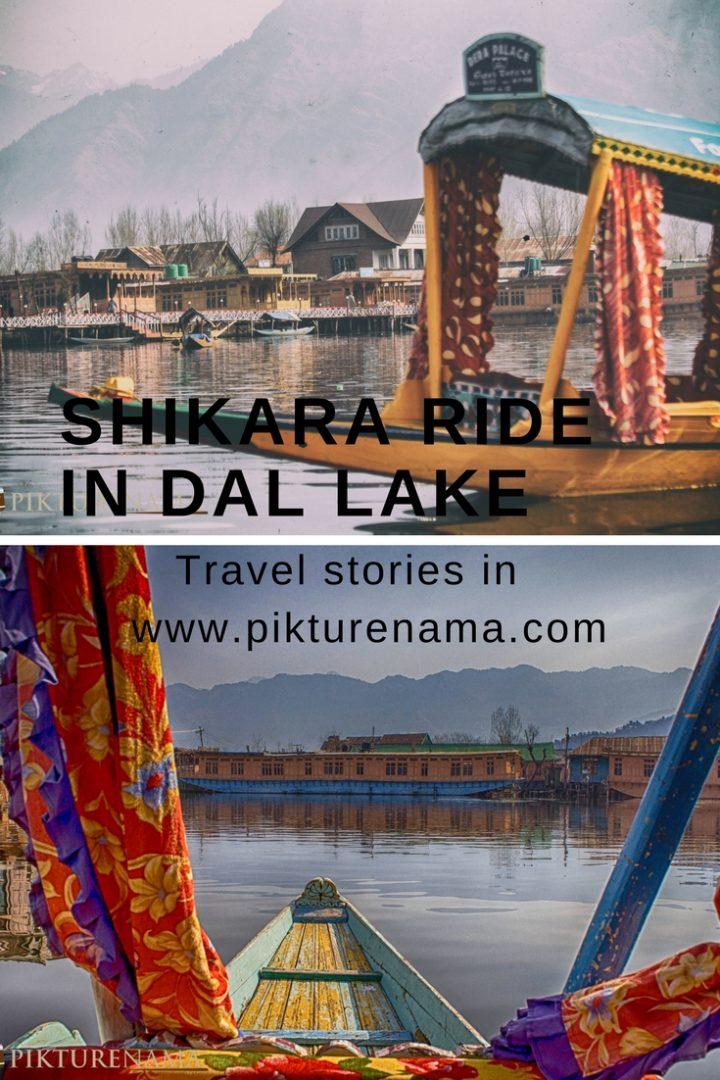 shikara ride