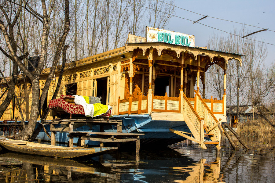 Kashmir Houseboat morning - 2