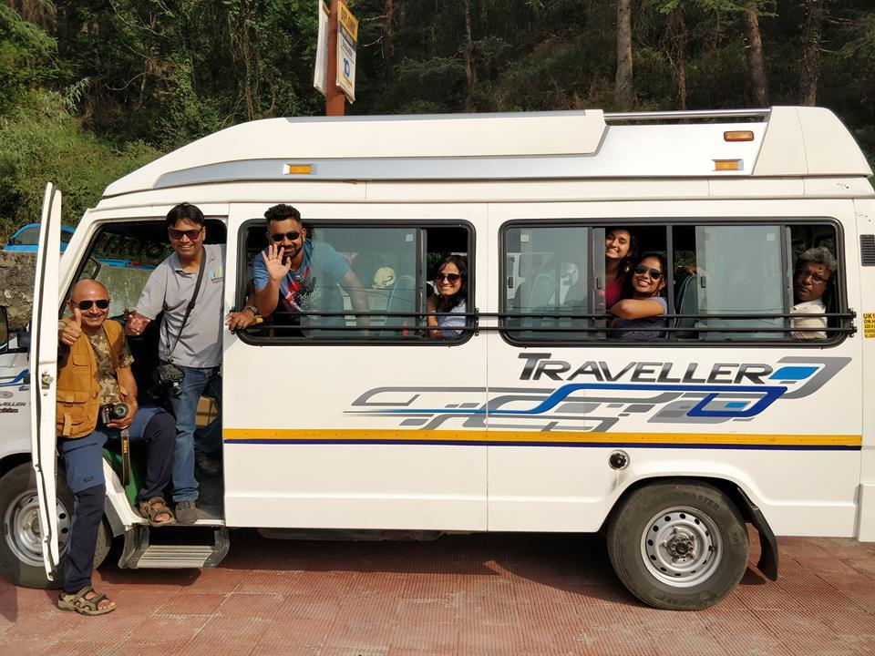 Bloggers bus to Uttarakhand 7
