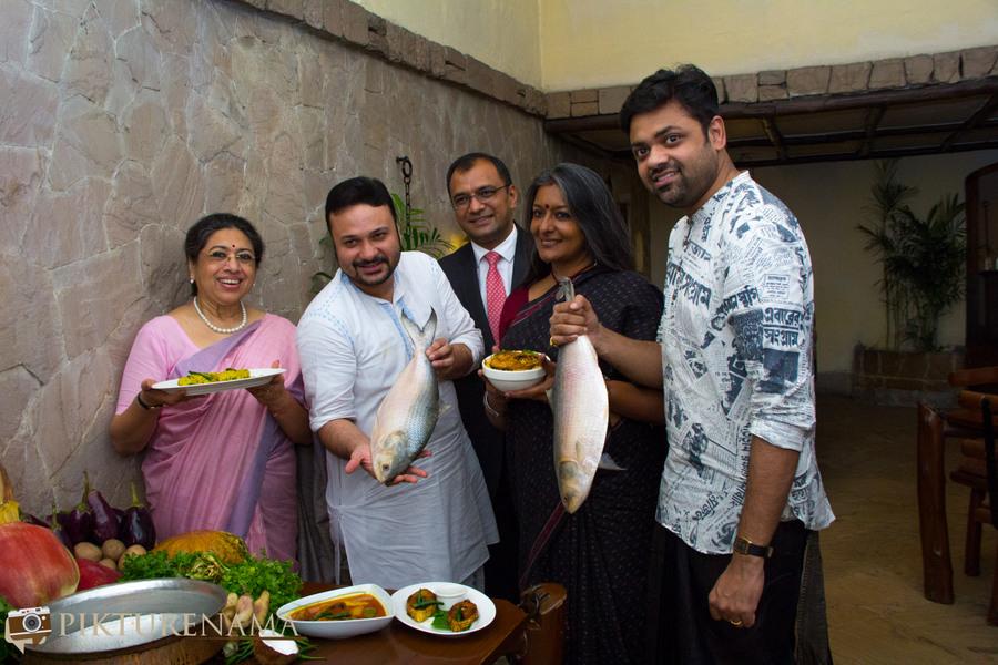 Doi Ilish at Taj Bengal - celebrities
