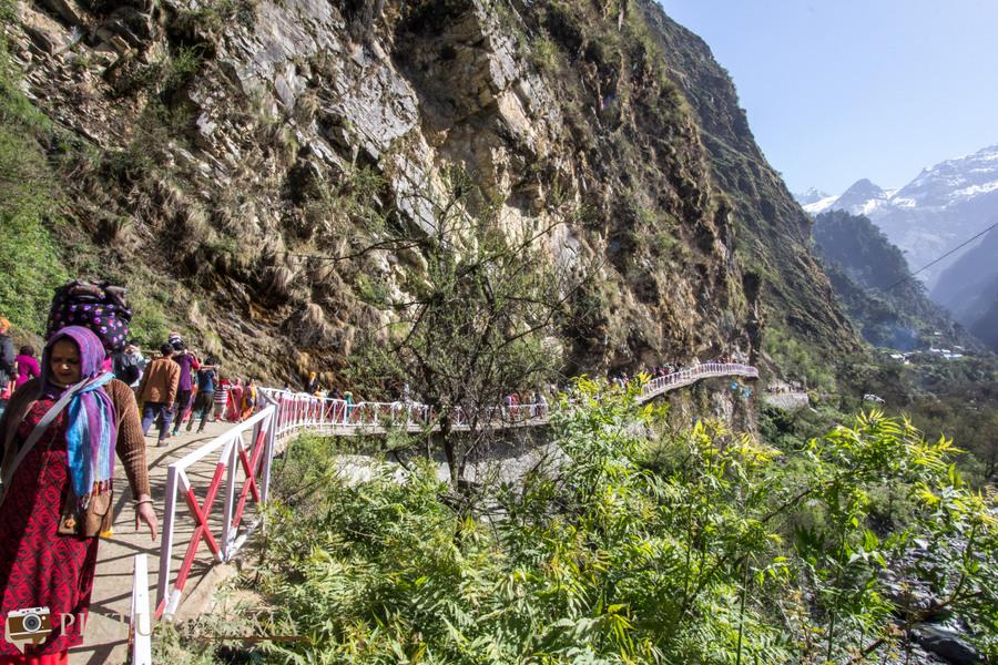 Yamunotri Trek path of trekking