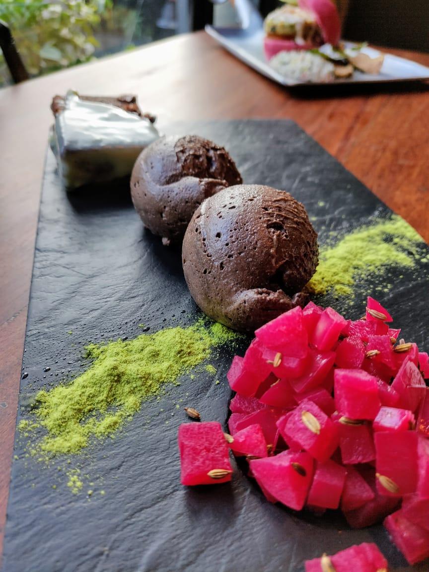 The Parking Lot Kolkata dessert