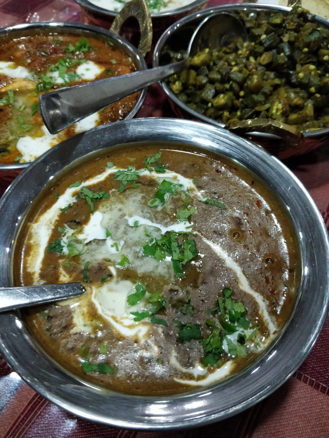 My Garhwali food sojourn smoky daal makhni at Ganga resort