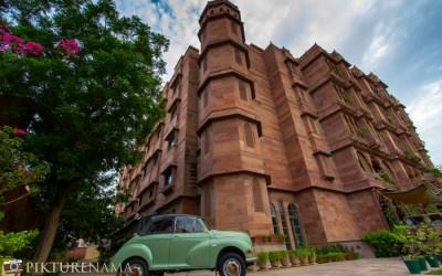Narendra Bhawan Bikaner  – I searched for synonyms of opulence