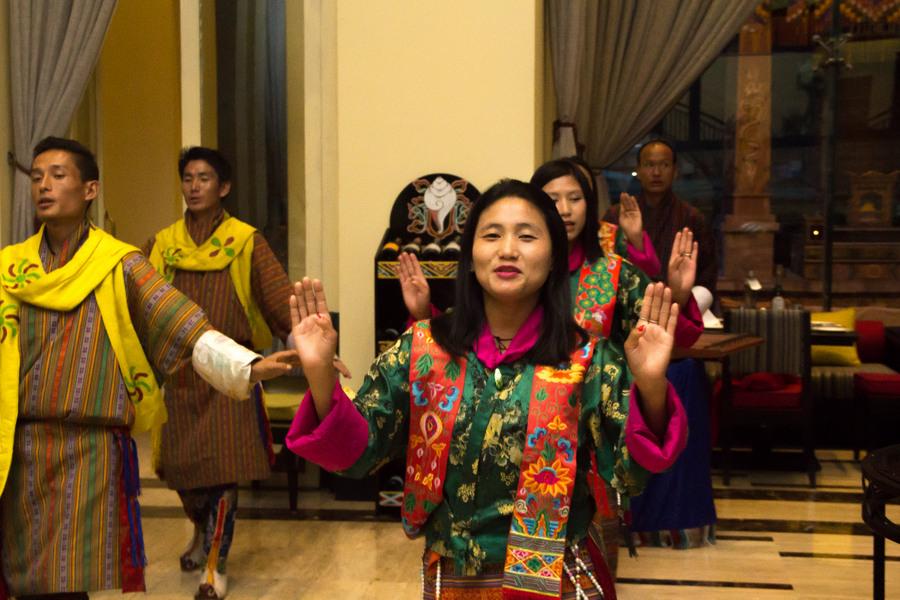 Taj Tashi thimpu traditional dance - 1