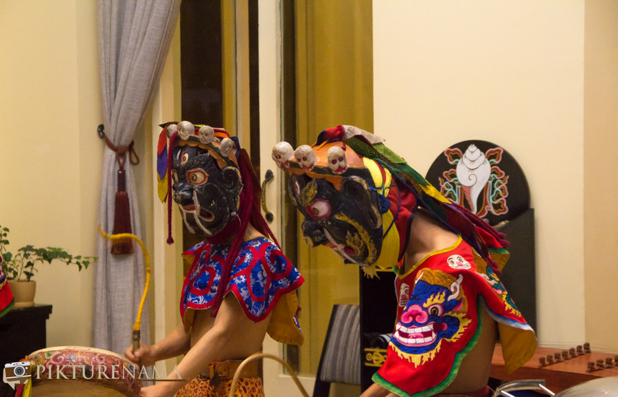 Taj Tashi thimpu traditional dance - 3