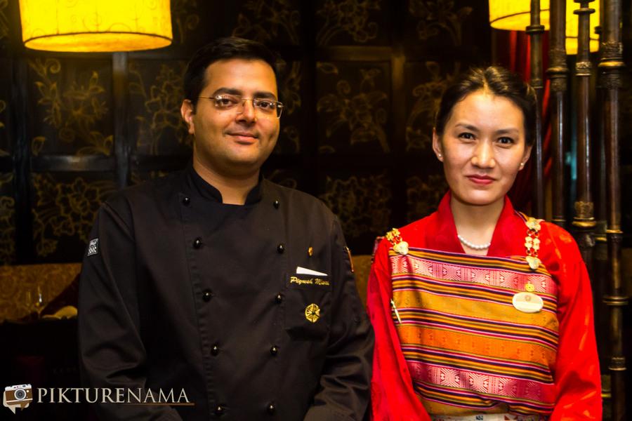 chig ja gye restaurant bhutan executive chef