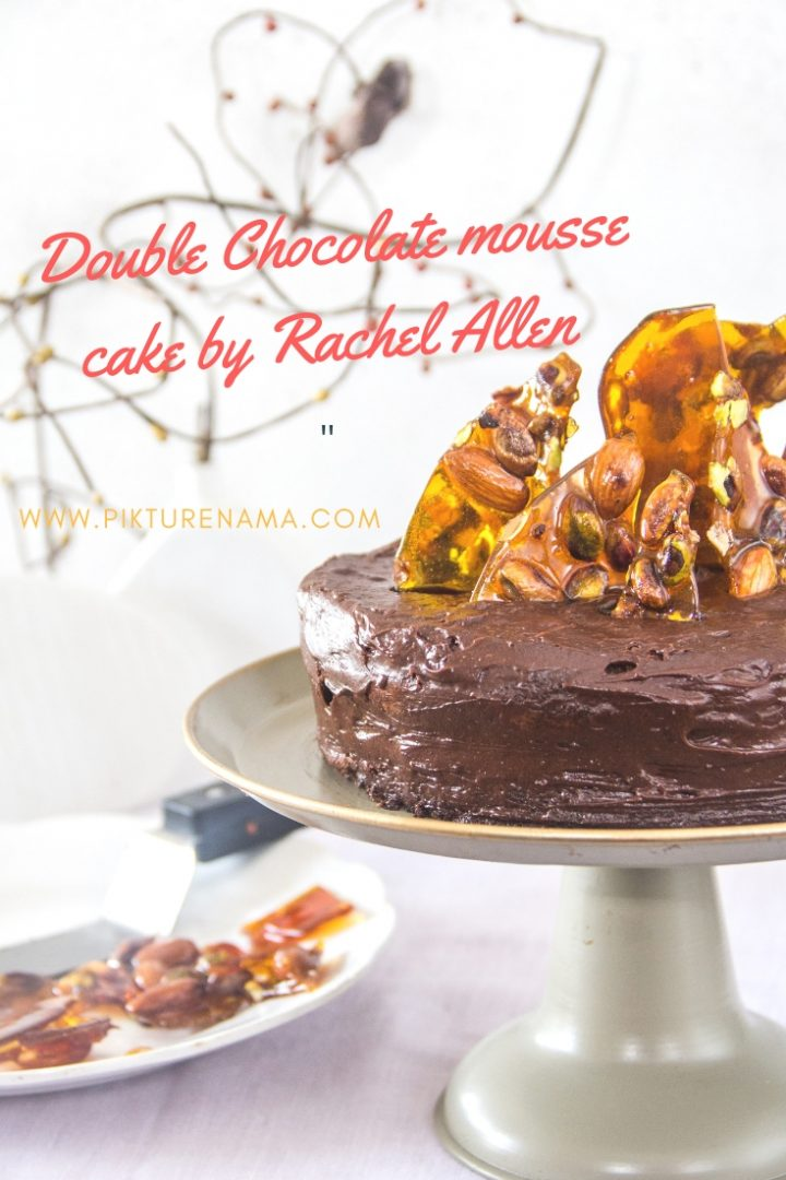 Double chocolate Mousse cake by Rachel Allen - 11