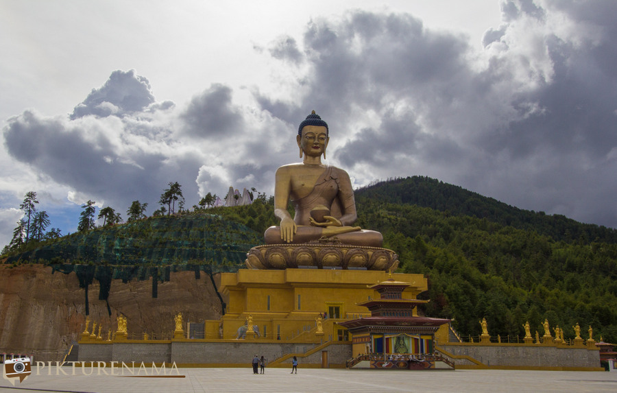 Taj Tashi Thimpu Bhutan Buddha Point