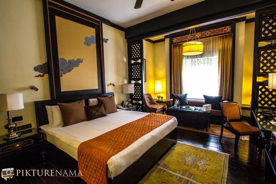 Taj Tashi Thimpu Bhutan inside my room
