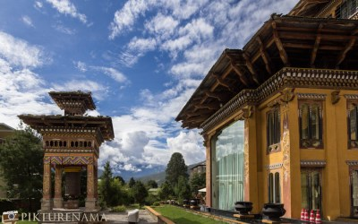 Taj Tashi Thimpu Bhutan the brightest jewel in Thimpu