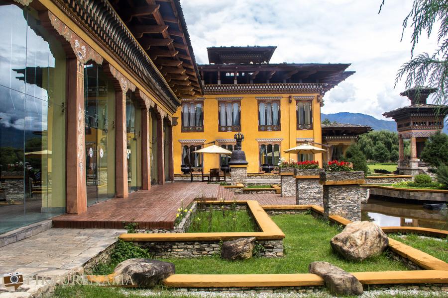 Taj Tashi Thimpu Bhutan Exteriors