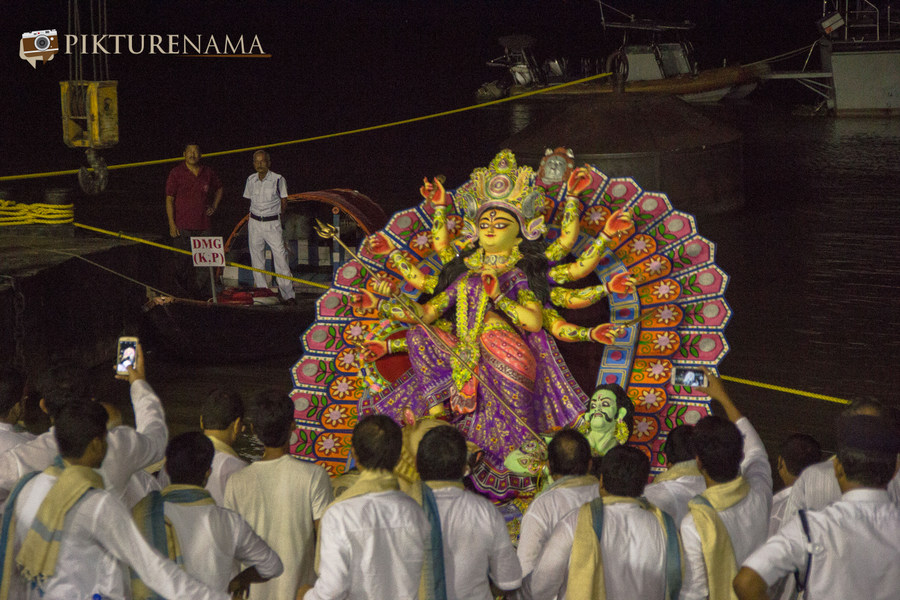 Elements of Durga Puja Bisrojon - 1
