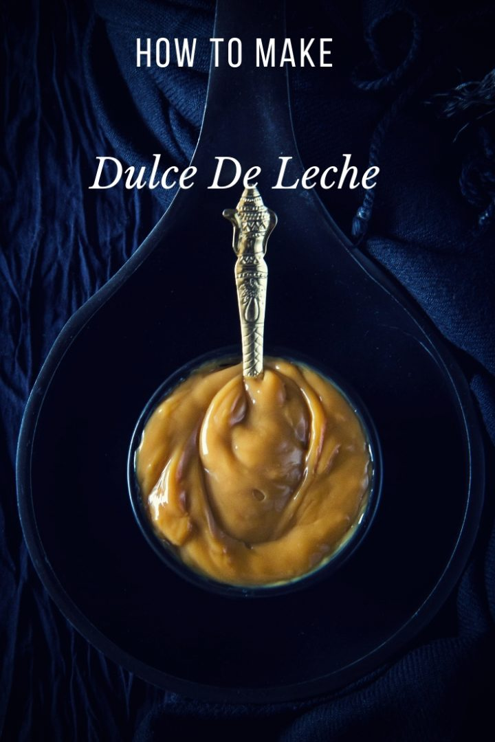 How to make Dulce de Leche at home pinterest