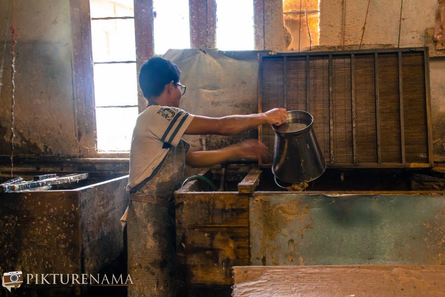 Jungshee Paper factory Thimpu Bhutan - 8
