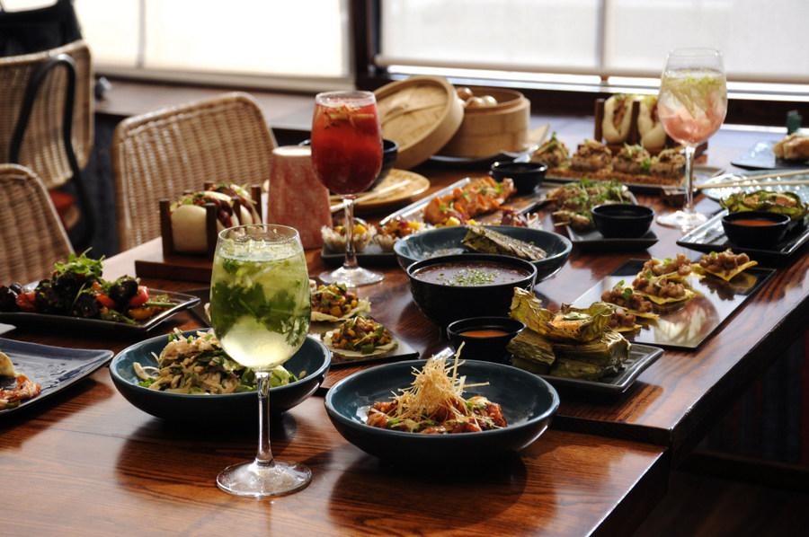 Pan Asian brunch in Kolkata - The Fatty Bao