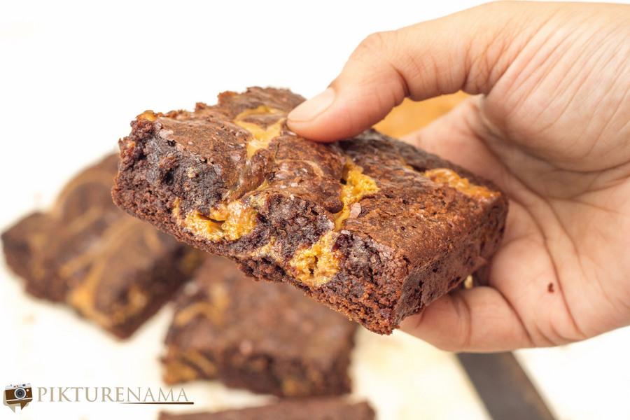 Dulce de Leche Brownies - 6