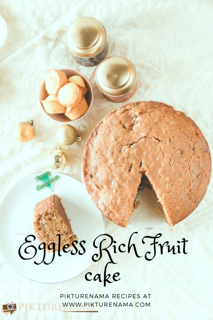 Eggless rich fruit cake pinterest -2