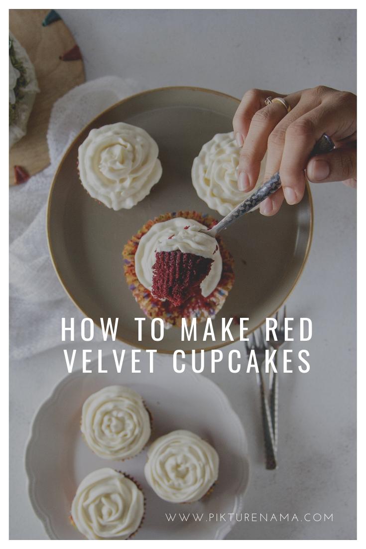 Red velvet cupcakes Pinterest - 3