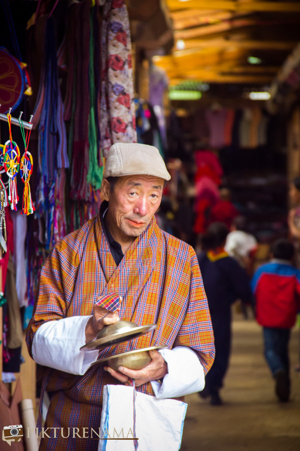 Weekend Market Thimpu the gentleman