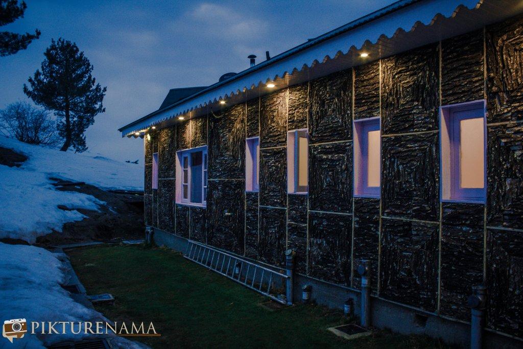 Nedous Hotel Gulmarg Kashmir lights