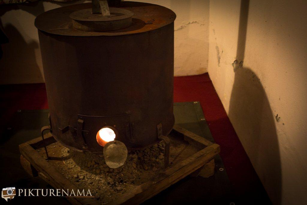 Nedous Hotel Gulmarg Kashmir fireplace