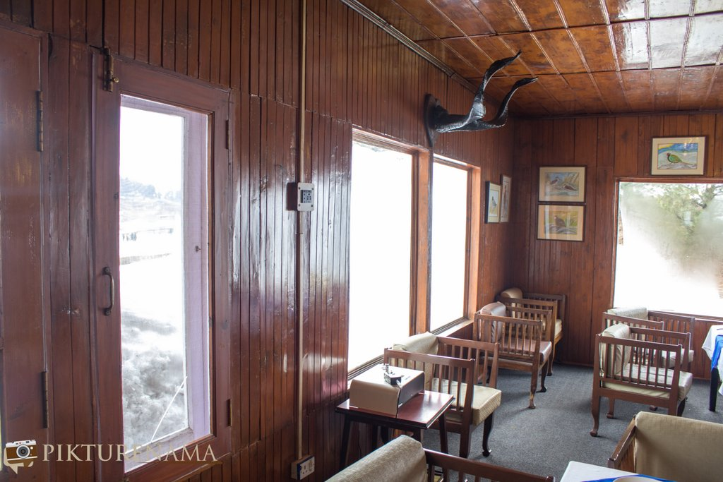 Nedous Hotel Gulmarg Kashmir 130 year old dining room 2
