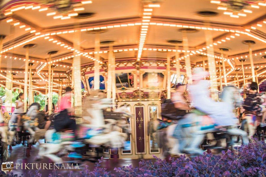 Cinderella Carousel at Hong Kong Disneyland - 13