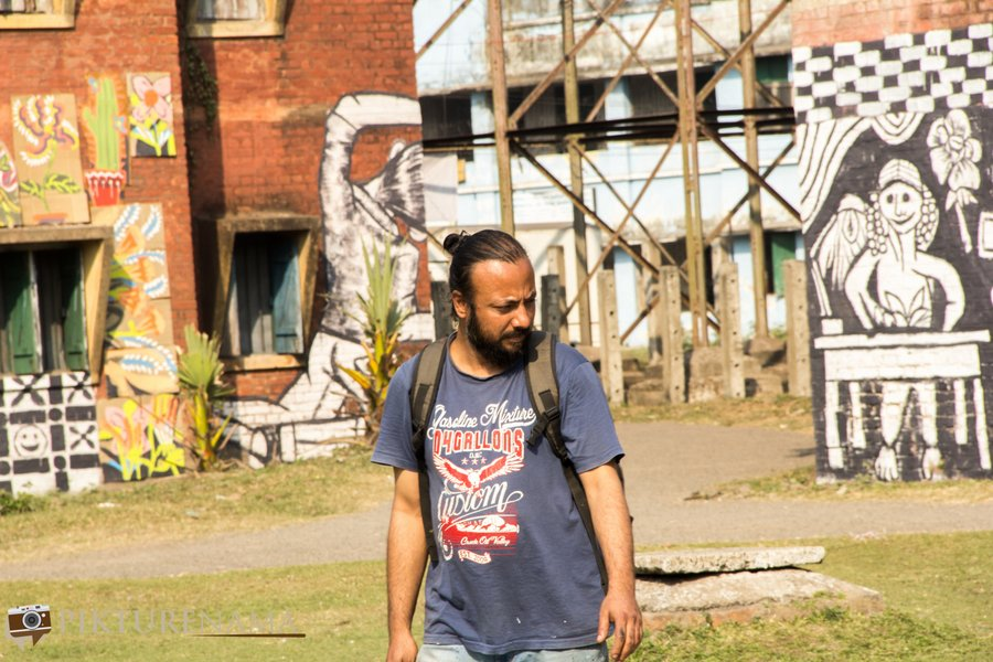 The Kolkata festival Sunny De wall