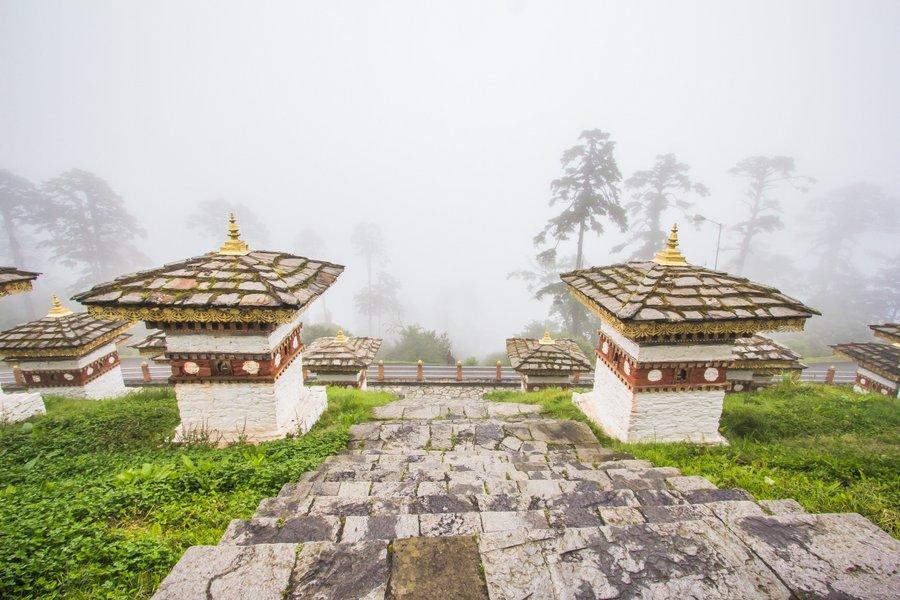 Dochula Pass Thimpu Bhutan - 36