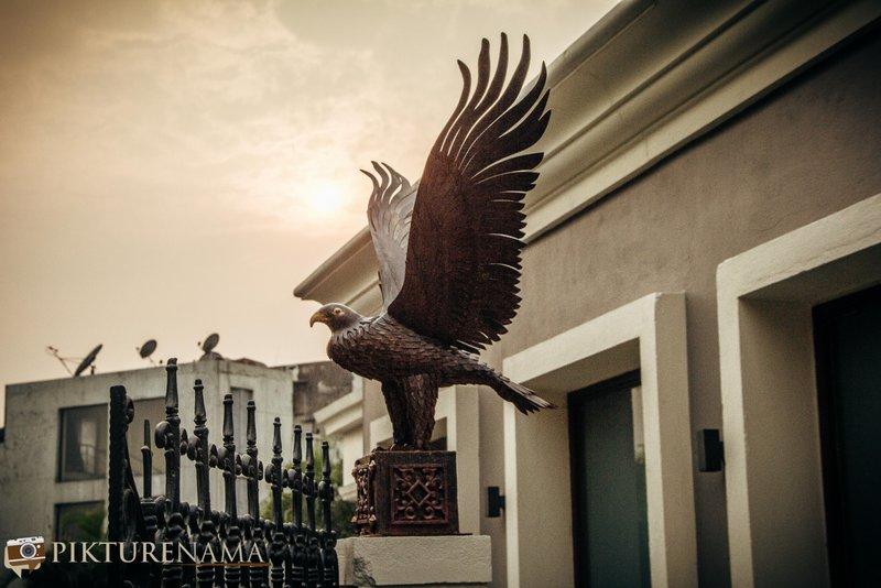 Artefacts of Raajkutir Kolkata teh eagle