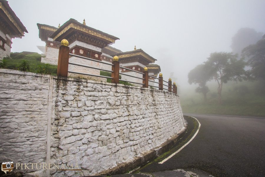 Dochula Pass Thimpu Bhutan -2