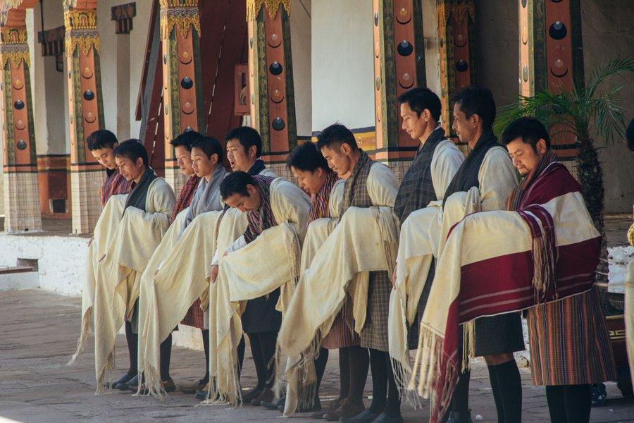 Inside Punakha Dzong Bhutan - 4