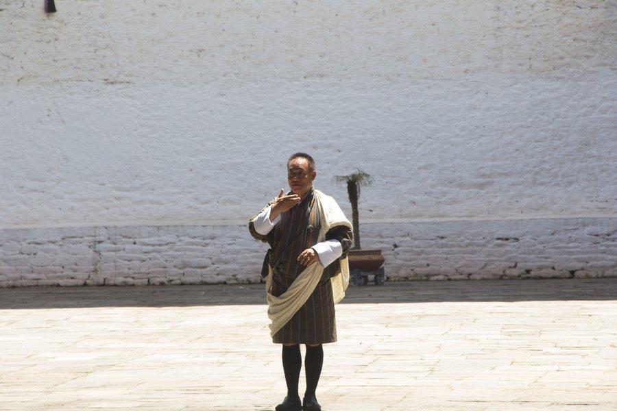 Inside Punakha Dzong Bhutan - 10