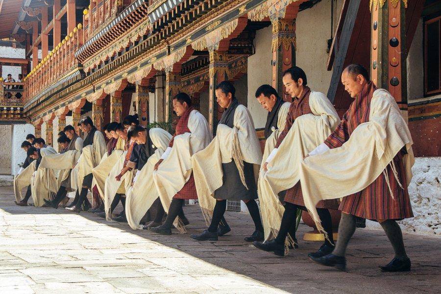 Inside Punakha Dzong Bhutan - 15