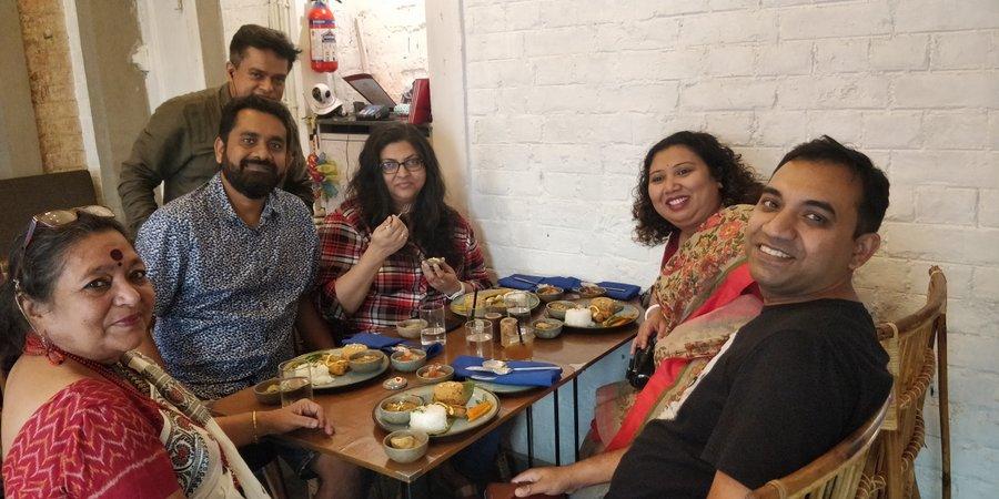 Phenomenal Firingee Thala by Pritha Sen is a Fabulous start to Nabo Barsho at Ekdalia Rd