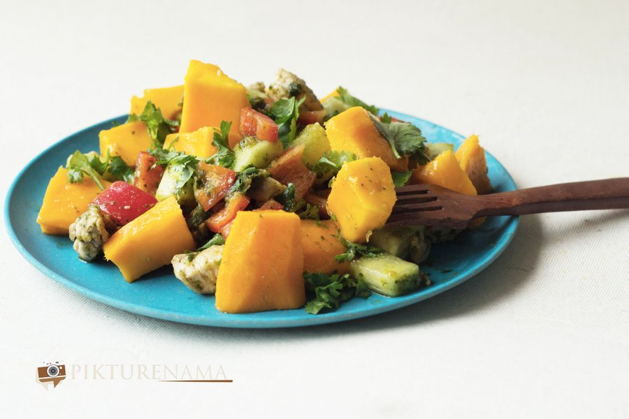 Mango chicken salad revised 2