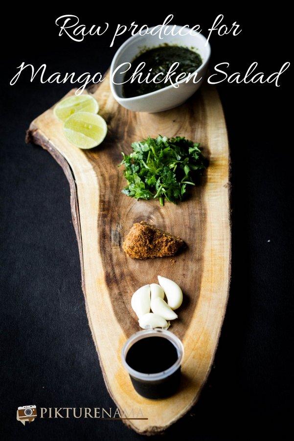 Mango chicken salad pinterest - 2